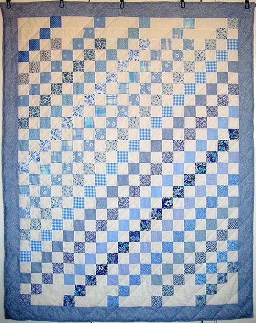 1311 birgit glüsing blå diagonaler