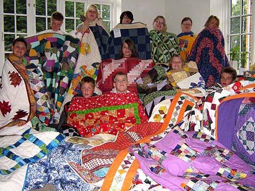 børn og tæpper