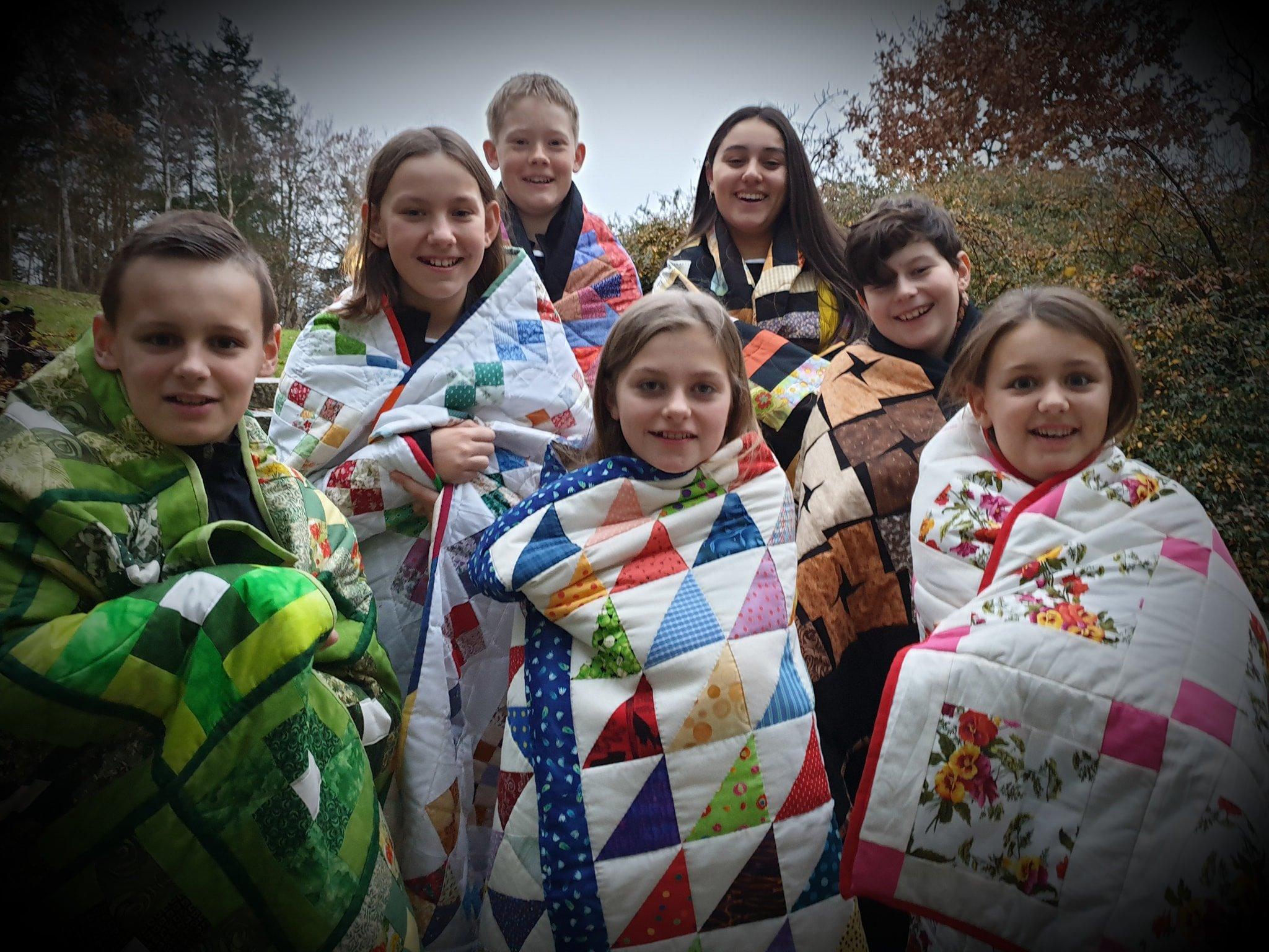 211119 kildemose børn m tæpper